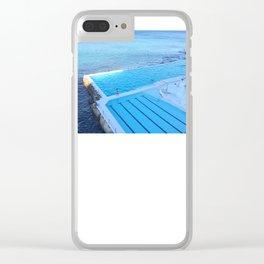 Bondi Beach Baths Clear iPhone Case