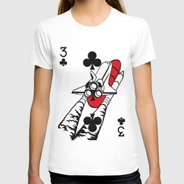 Curator Deck: The 3 of Clubs T-shirt