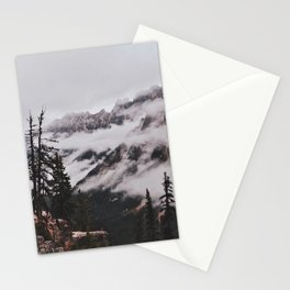 Fog in the Cascades Stationery Cards