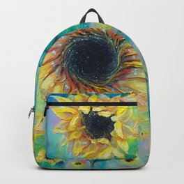 Supermassive Sunflowers Backpack