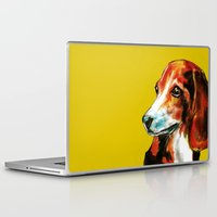 beagle Laptop & iPad Skins featuring Beagle by James Peart