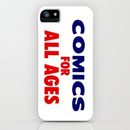Comics for All Ages iPhone Case