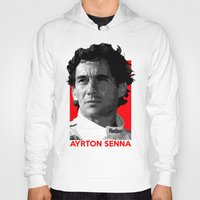 senna Hoodies featuring Formula One - Ayrton Senna by Vehicle