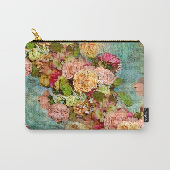 ROSES SO ROMANTIC Carry-All Pouch
