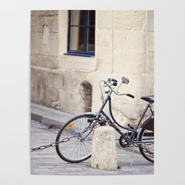 Parked In Paris Poster