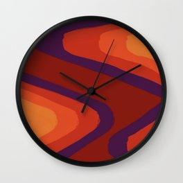 Wavelength Wall Clock