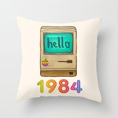 1984 Throw Pillow