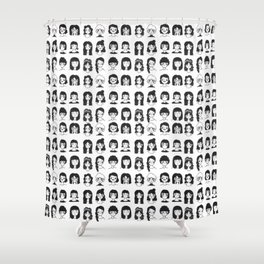 How are you feeling today? Shower Curtain
