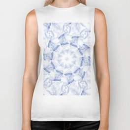 artistic abstract background Biker Tank