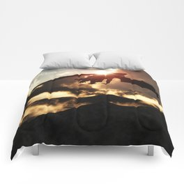 Volcanoes - Home of the Dragons Comforters