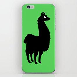 Angry Animals: llama iPhone Skin