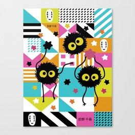 Spirited Away - Sootballs Canvas Print