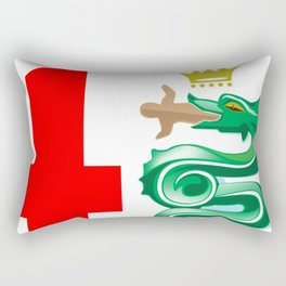 Alfa Romeo logo interpretation! Rectangular Pillow