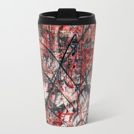 Imogene in Red Travel Mug