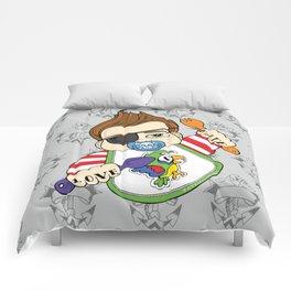 Tattooed Baby 002 Comforters
