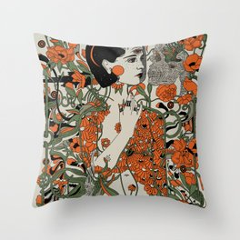 Daughter Throw Pillow
