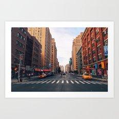 New York City - Summer in Chelsea Art Print