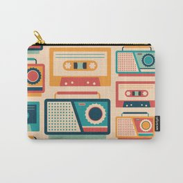 Audio Cassettes and Radios Carry-All Pouch
