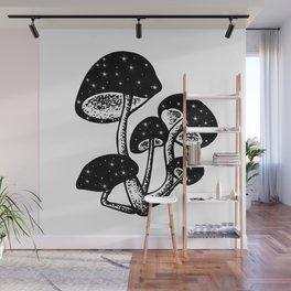 Magic of the Mushrooms Wall Mural