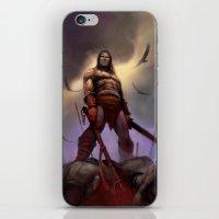 conan iPhone & iPod Skins featuring Conan the Barbarian by Eric Lofgren