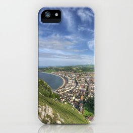 Great Orme View iPhone Case