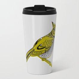 Crested Tit Travel Mug