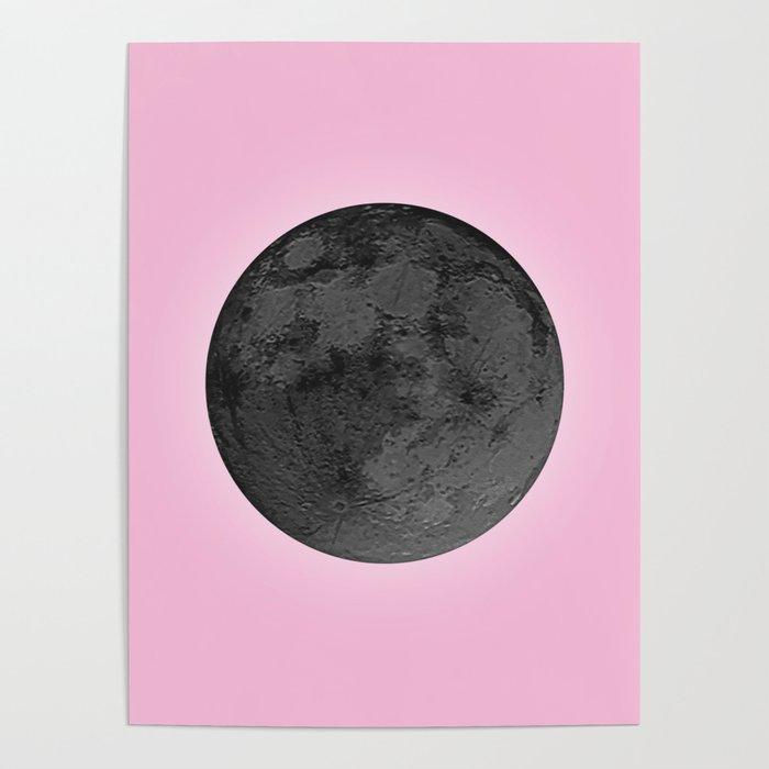 BLACK MOON + PINK SKY Poster