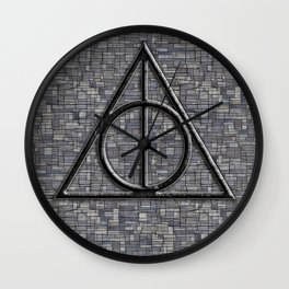 Deathly Hallows Wall Clock