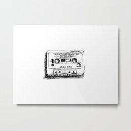 90's Series Cassette Tape #4 Metal Print