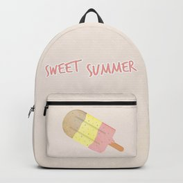Summer Ice Cream Backpack