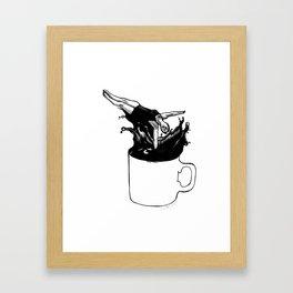 Mondays amirite? Framed Art Print