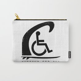 Baesic Surfing For All Carry-All Pouch