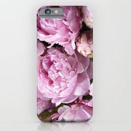 Dream on, Peonies... iPhone Case