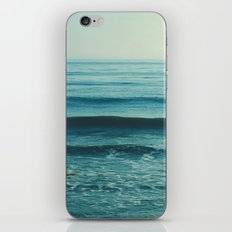 beach waves. Somewhere  iPhone & iPod Skin