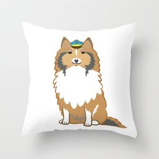 Animal Police - Collie Throw Pillow