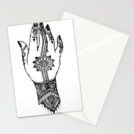 Hand of delicacy. By Ane Teruel. Stationery Cards