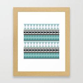 Bohemian Style B&W Framed Art Print