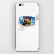 Red Geraniums iPhone & iPod Skin