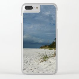 Winter Beauty at The Beachside Clear iPhone Case
