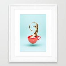 Jacobs Gold Framed Art Print