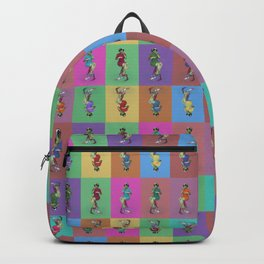 He's Got an Arm Off - Zombie Pin-Up Graphic Pattern Backpack
