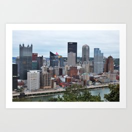 Steel City Art Print