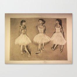 Degas Master Copy Canvas Print