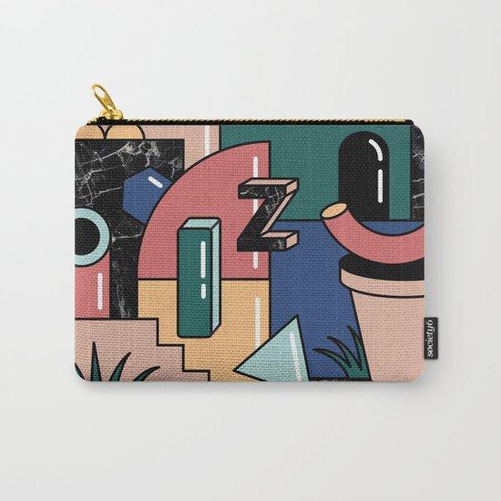 Shape Set no.2 Carry-All Pouch