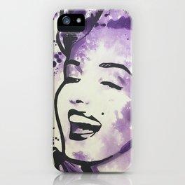 Playfully Purple iPhone Case
