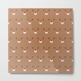 Rudolph Clones (Patterns Please) Metal Print
