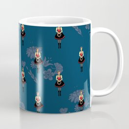 Klara from Moravia Czech folklore dancer Coffee Mug