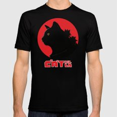 Catzilla LARGE Mens Fitted Tee Black