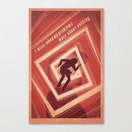 TBS Search Party: Vertigo Canvas Print