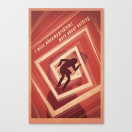 TBS Search Party: Vertigo Canvas Print